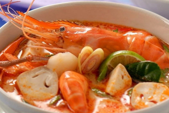 ต้มยำกุ้ง อาหารของไทยไม่แพ้ชาติใดในโลก
