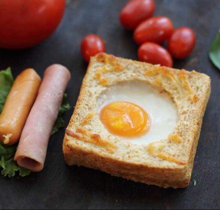 ไข่ดาวยัดขนมปัง เมนูน่าทาน