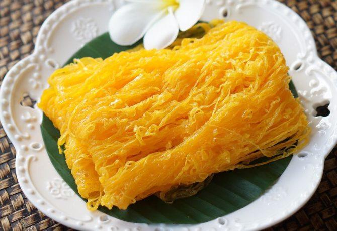 เข้าครัวทำขนมไทย ด้วย เมนูฝอยทอง ที่หวานฉ่ำ