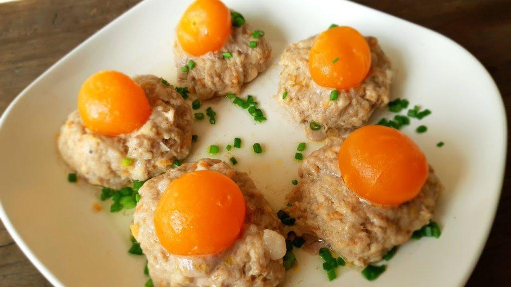 อาหารจากไข่กับหมู 1