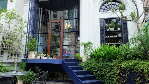 Café สีฟ้า ดูแล้วสบายตาบรรยากาศดูอบอุ่น ที่ทำให้คุณรู้สึกผ่อนคลาย