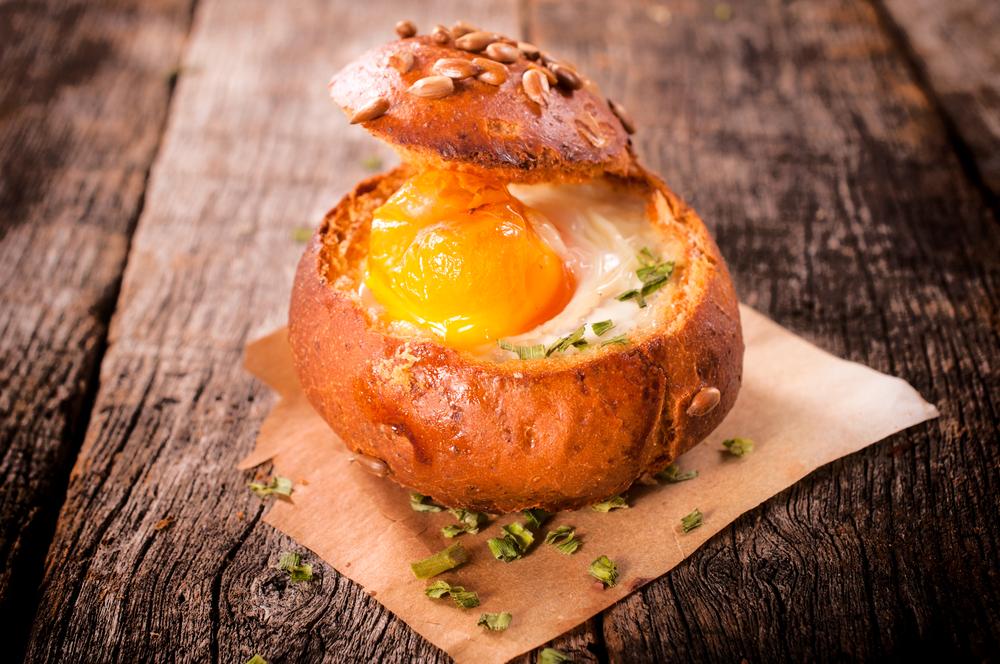 ไข่อบในขนมปัง