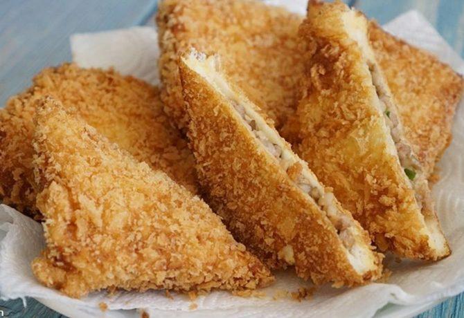 แซนด์วิชทอด เมนู ที่ทำทานได้ง่าย ๆ แถมยังเป็นมื้อเช้าที่ได้ประโยชน์อีกด้วย