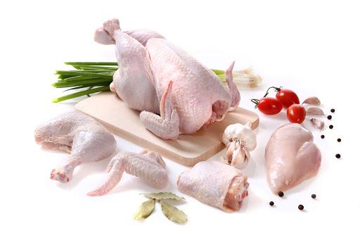 อาหารจากไก่