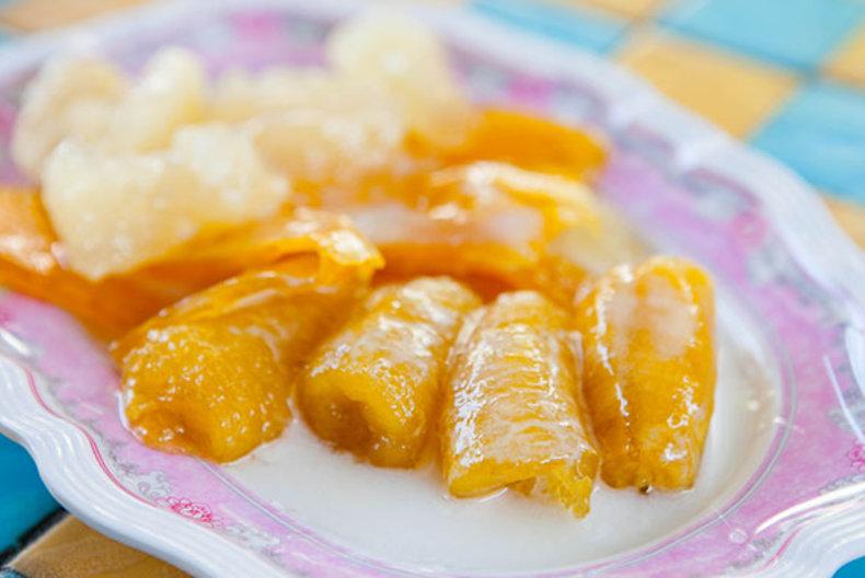 กิมเอ็ง กล้วยเชื่อมตลาดพลู