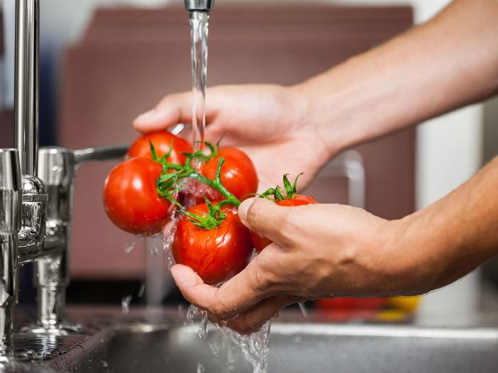 วิธีล้างผักผลไม้