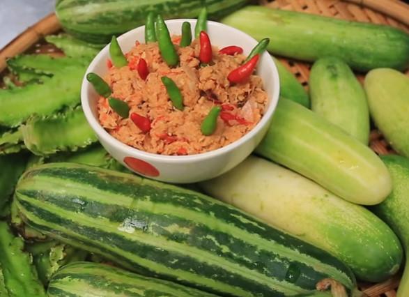 น้ำพริกปลาทูน่า
