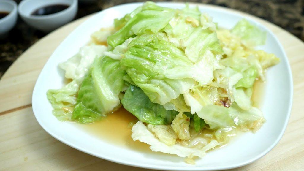 เมนูอาหารจากผัก กะหล่ำปลีผัด